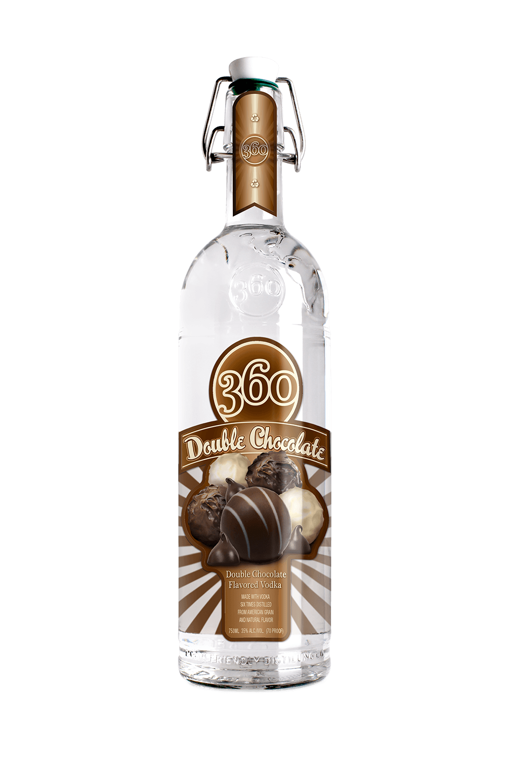 360 Double Chocolate Flavored Vodka
