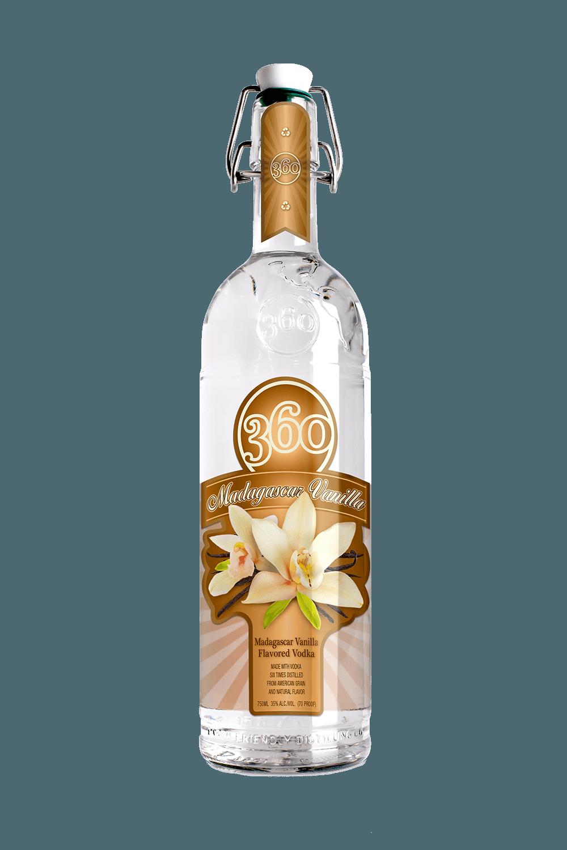 360 Madagascar Vanilla - 360 Vodka