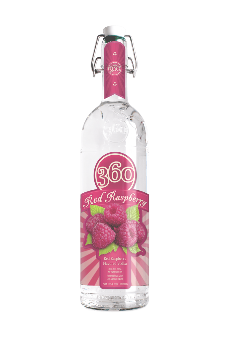 raspberry flavored vodka
