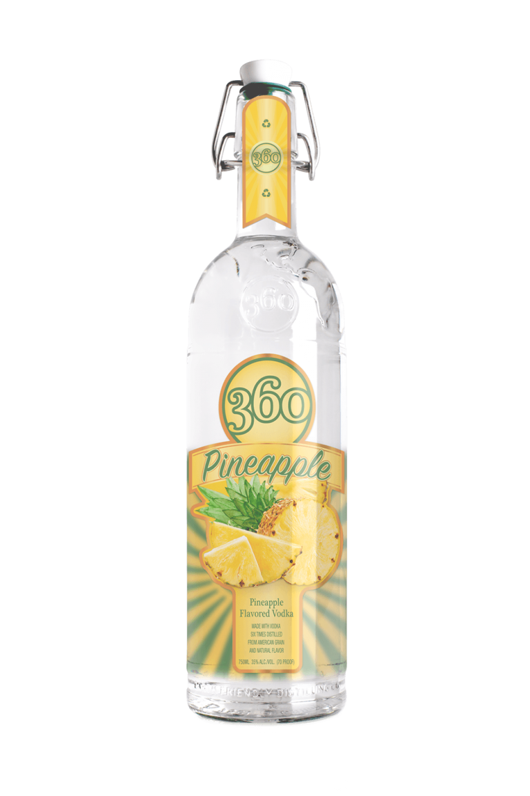 pineapple flavored vodka